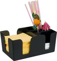 Барный организатор для салфеток и трубочек на 6 отделений