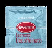 Кофе Gemini Espresso Decaffeinato в монодозах (таблетках, чалдах)
