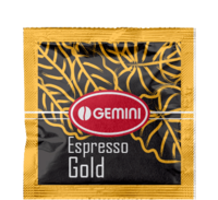Кофе Gemini Espresso Gold в монодозах (таблетках, чалдах)